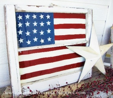 DIY Painted Flag Tutorial