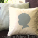 Silhouette Pillow Tutorial