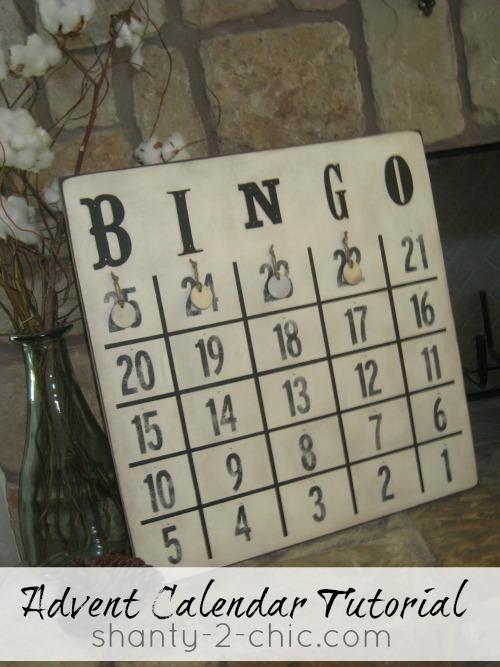 Advent Calendar by Shanty 2 Chic