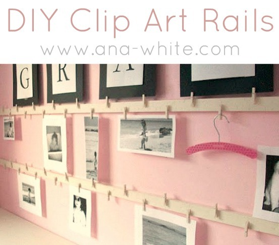 DIY Clip Art Rails by Ana White