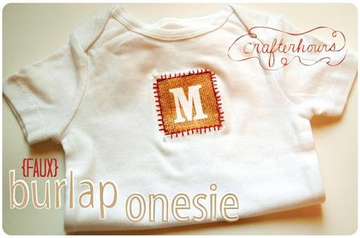 Baby Onesie Tutorial