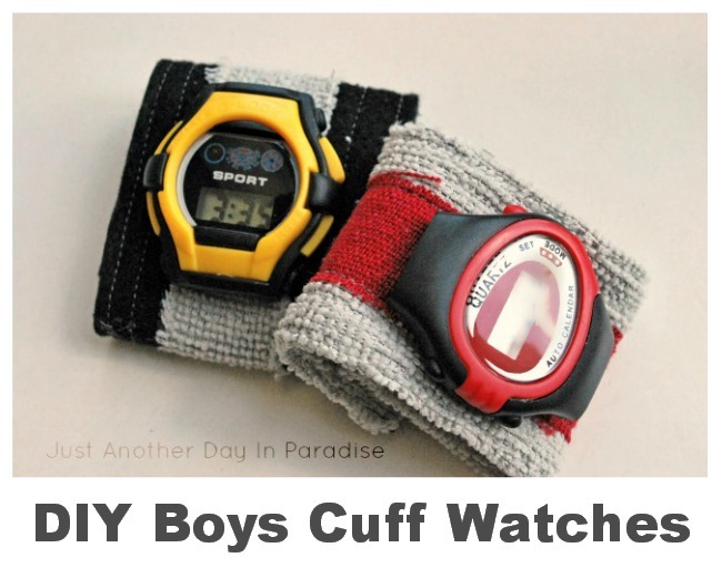 Boys Cuff Watch Tutorial by Just Another Day in Paradise