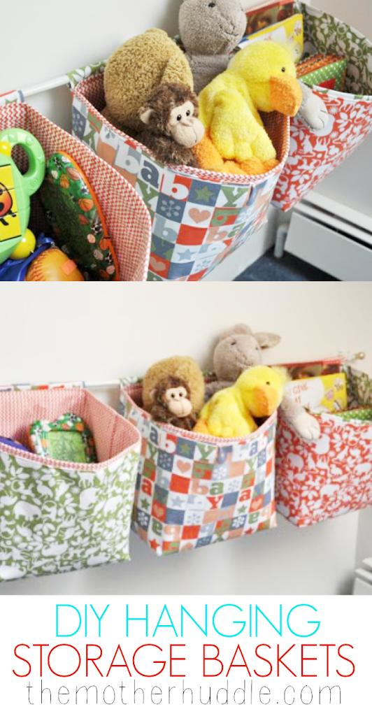 Hanging Storage Baskets Tutorial U Create