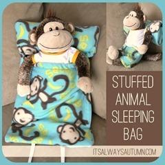 stuffed animal sleeping bag tutorial[7]
