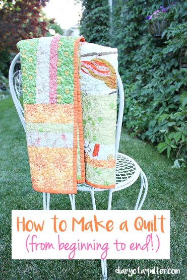 How to Make a Quilt - from beginning to end!