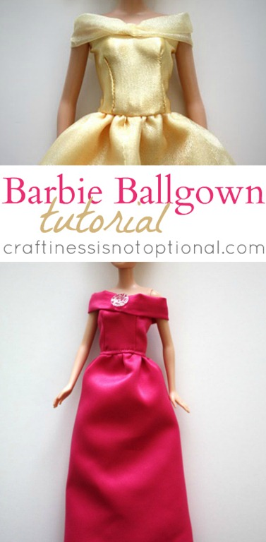 Barbie Ball Gown Tutorial - U Create