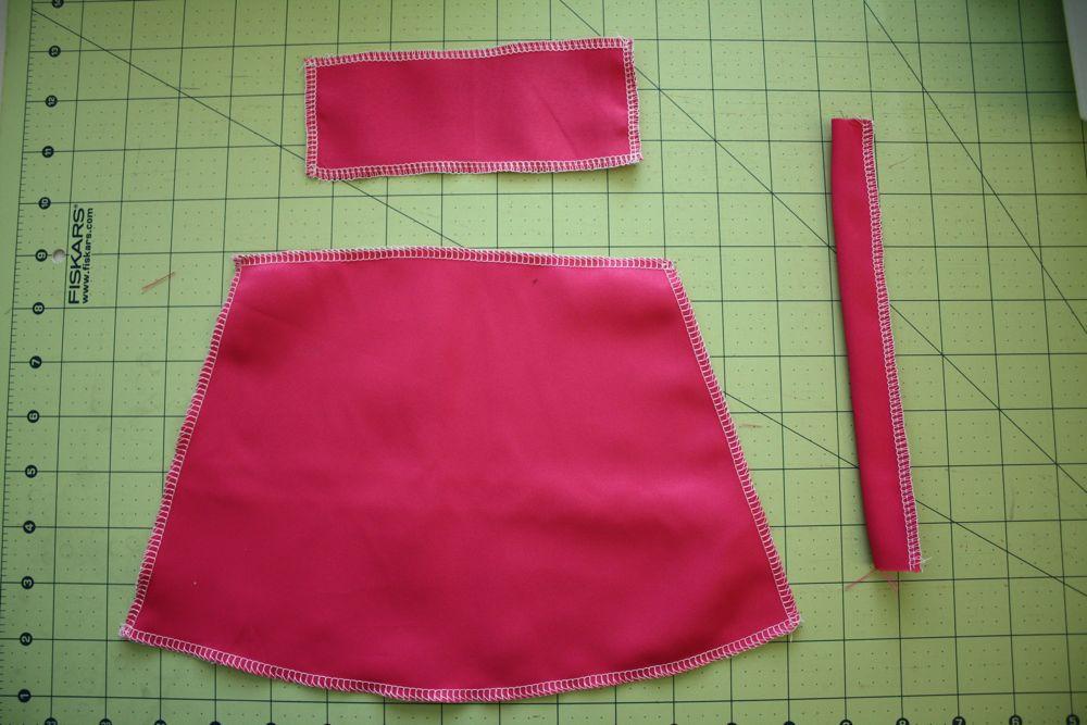 Как сшить для кукол барби юбку