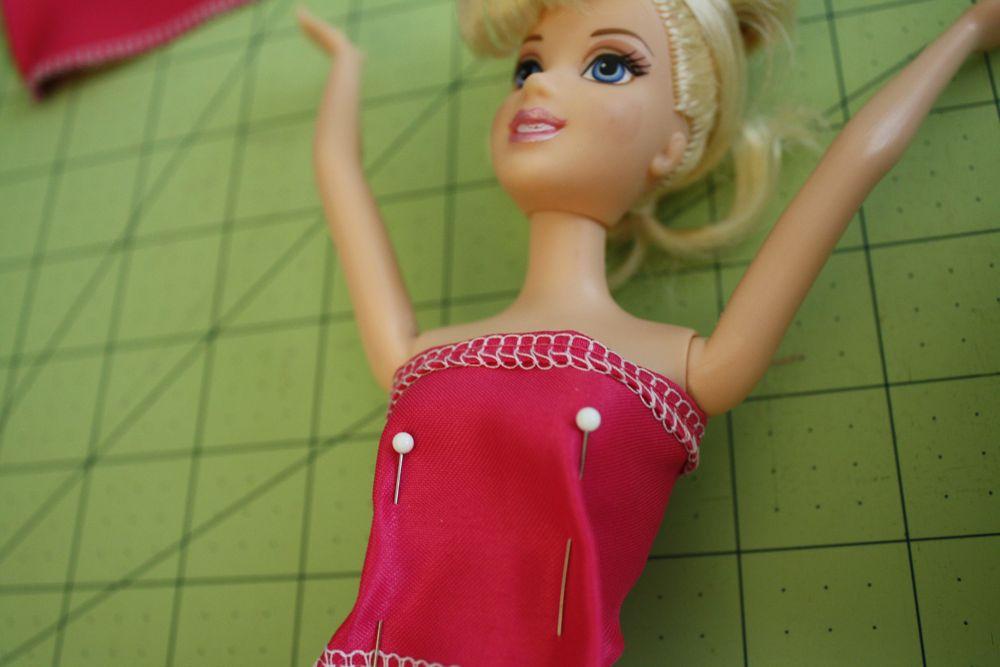 Платья для кукол барби своими руками без машинки