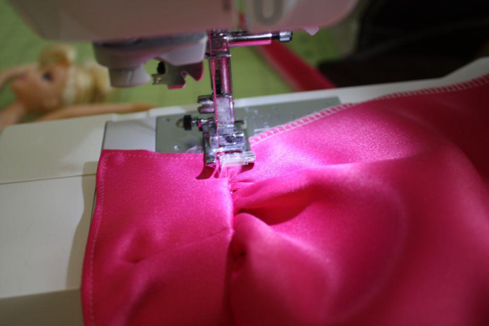 Как сшить платье для кукол барби без липучек 85