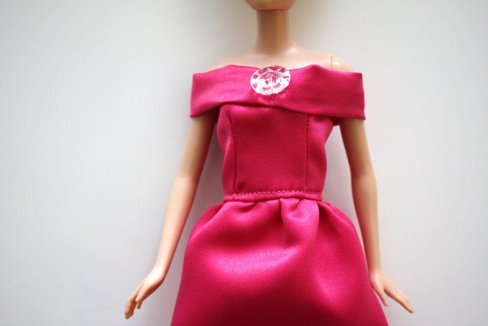 Шьём платье своими руками для барби 72
