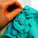 Rosette Shrug Tutorial by Brassy Apple