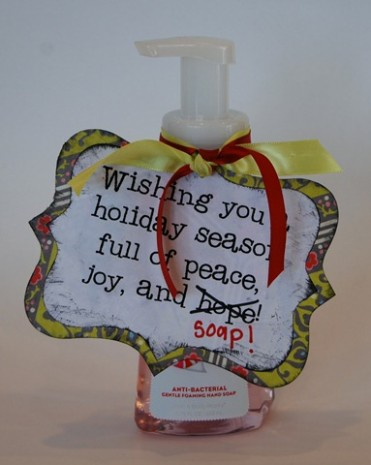 Christmas Soap Gift Idea by Crap I've Made