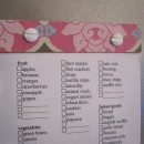 Printable, Customizable Grocery List by Infarrantly Creative