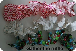 gather the ruffle