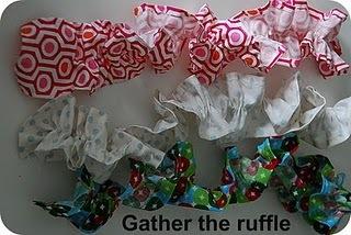 gather the ruffle