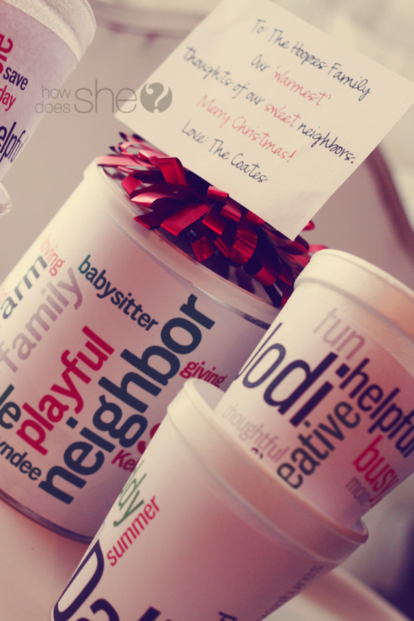 How To Make A Personalized Hot Chocolate Gift By Does She
