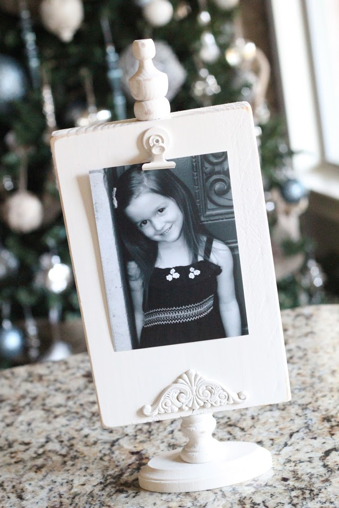 Photo Display Tutorial by Shanty 2 Chic - great gift idea!