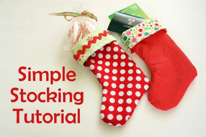 Simple Stocking Tutorial