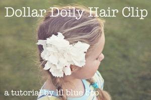 doily hair clip[5]