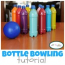 Plastic Bottle Bowling by Meet the Dubiens