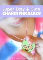 simple charm necklaces