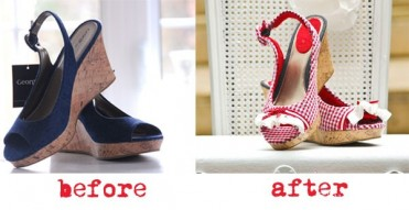 DIY Shoe Makeover by Funkytime