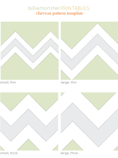 free chevron templates