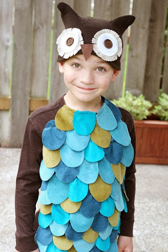 owl costume tutorial