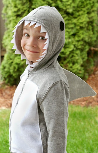 shark costume tutorial