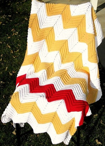 chevron crochet blanket tutorial[13]