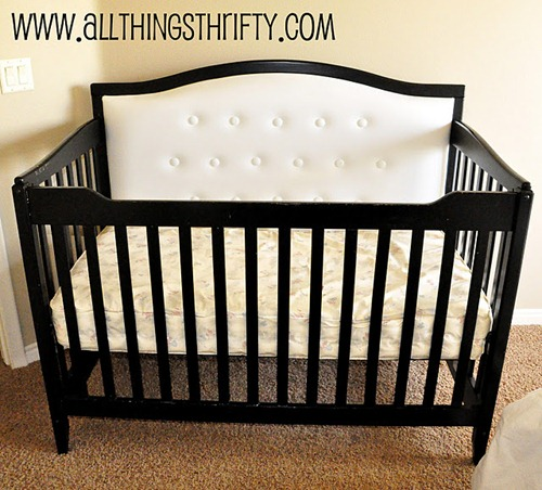 diy reupholstered crib