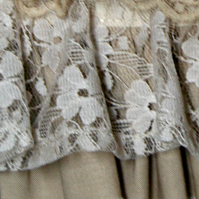 Hem of Lace Fabric