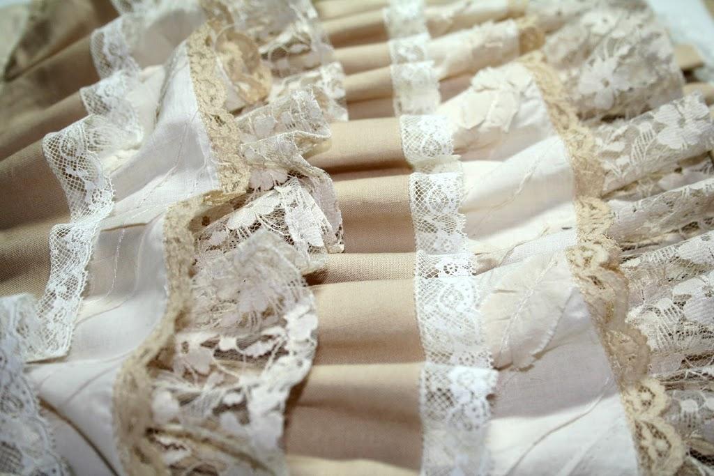 Rows of ruffles