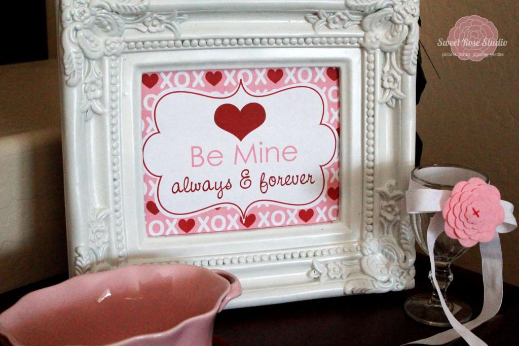Be Mine Valentine's Day Printable