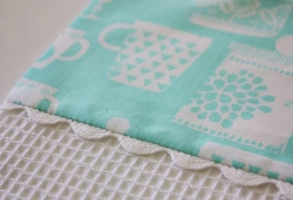 How to Make a Ric Rac Tea Towel