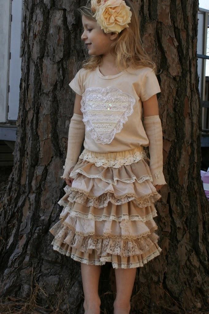 victorian valentine skirt tutorial