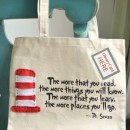 Dr Suess Library Tote Bag Tutorial