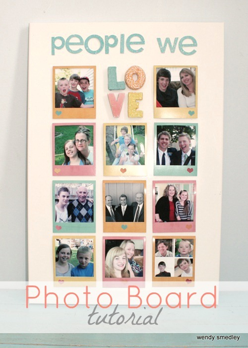 Photo Board Tutorial