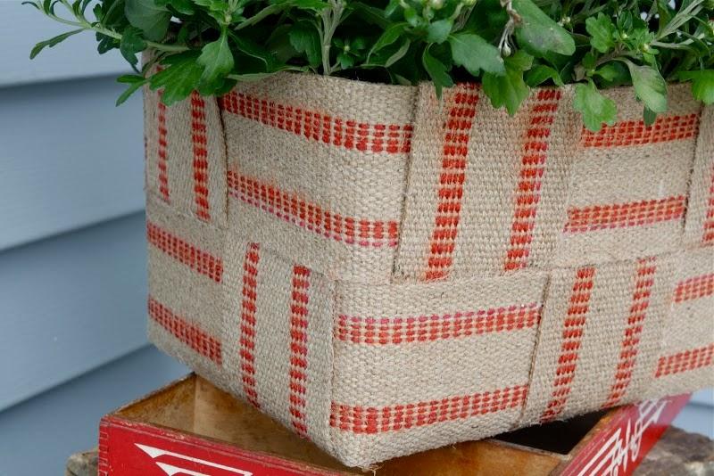 Jute Basket Tutorial by Lemon Tree Creations