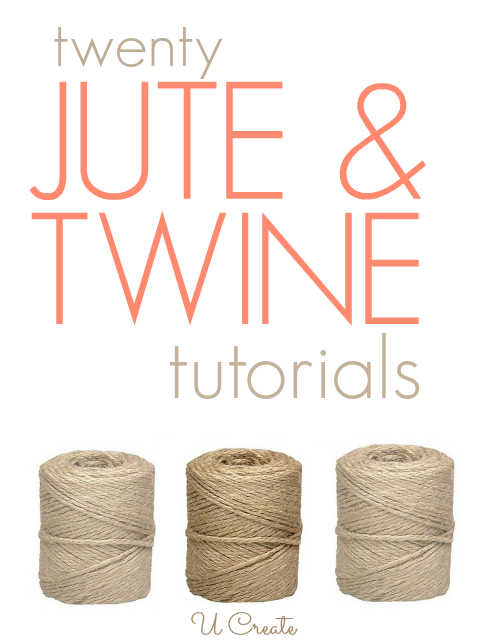 20 Jute And Twine Tutorials U Create