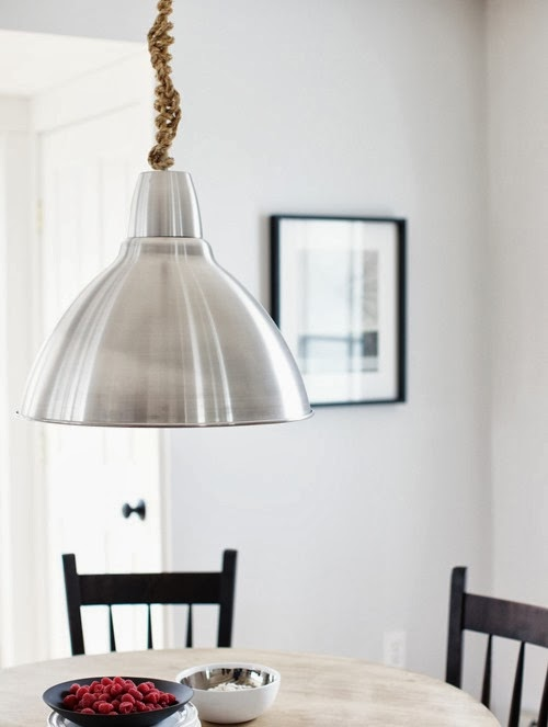 Twine Knotted Lamp Cord Tutorial by Design Sponge