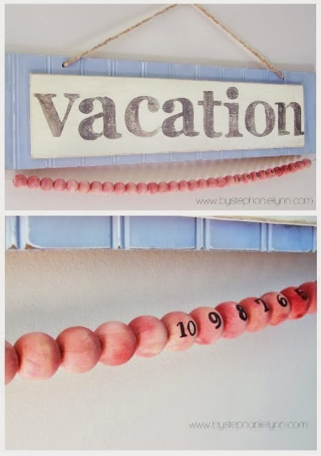 Vacation Countdown Tutorial by Stephanie Lynn