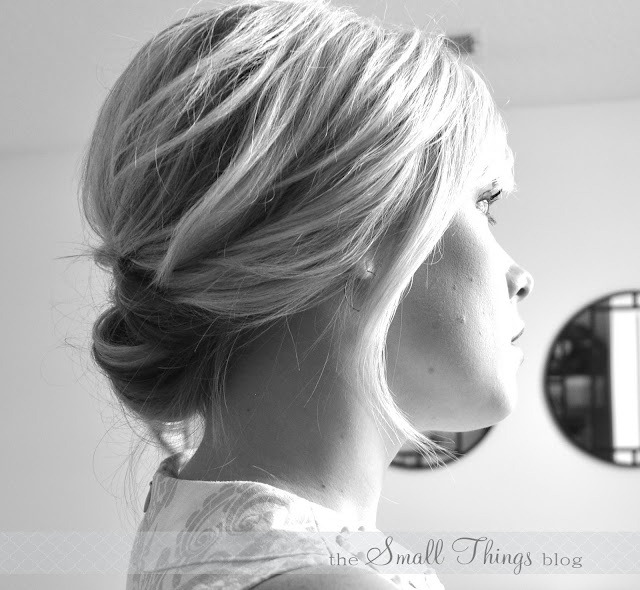 Chic Updo Tutorial