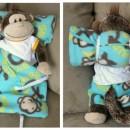 DIY Sleeping Bag Tutorial for toys