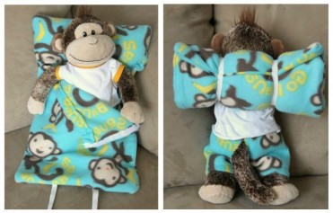DIY Sleeping Bag Tutorial for toys