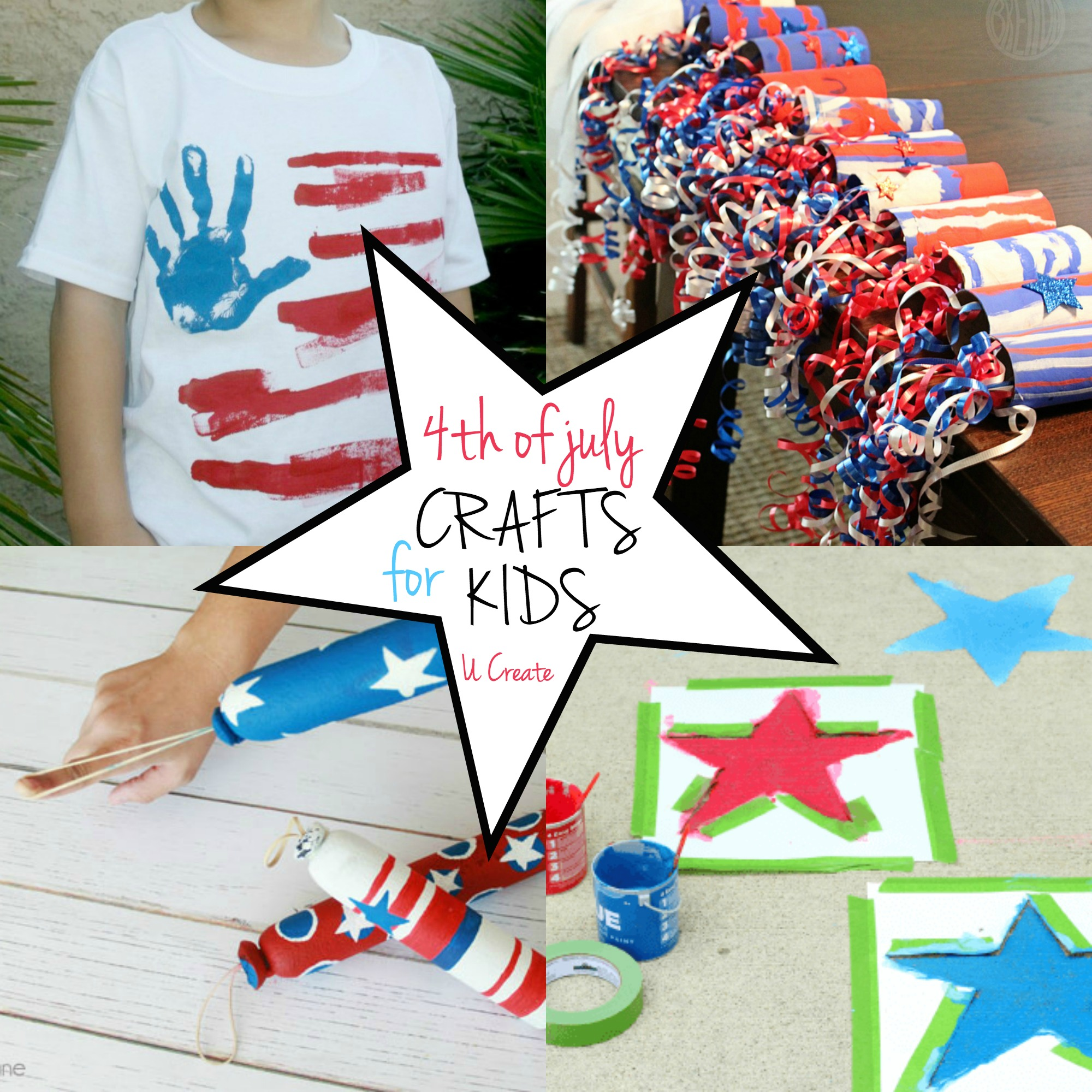 4th of July Crafts for Kids at U Create
