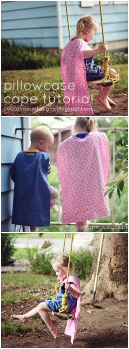 How to Make a Pillowcase Cape