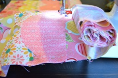 Roll as you go! Baby Quilt Tutorial