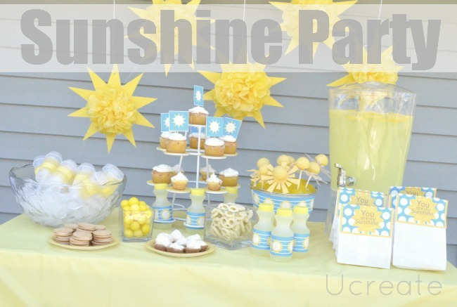 Sunshine-Birthday-Party