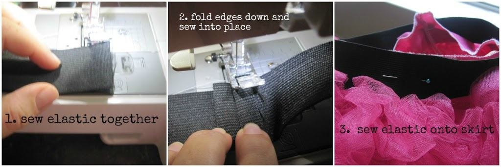 c8146e9beb When you sew the elastic together and then stitch down the edges it creates  a nice flat round of elastic and a finished look. When you attach they  elastic ...